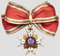 House Order of the Golden Flame (Hohenlohe Family) – Princess's Decoration (c. 1880, probably by Godet, Berlin) (obverse) Not reserved for ladies, but it's so beautiful...