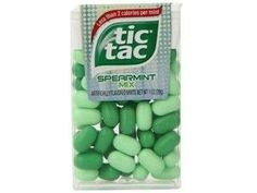 """Tic Tac Mints Spearmint Mix Flavor ( Box of 12 Packs )  """"FAST N FREE SHIPPING no minimum required buy today at www.JGUM.Net"""""""