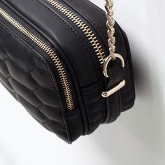 ZARA - COLLECTION SS15 - QUILTED MESSENGER BAG