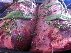 Rosbife Steak, Food, Roast Beef, Carne Asada, Electric Knife, Buffet Tables, Herbs, Meals, Yemek