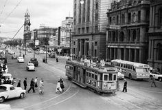 King William St in the 1950s.