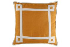 Lazzaro 20x20 Pillow, Gold