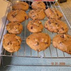 Pumpkin Chocolate Chip Biscuits @ allrecipes.com.au