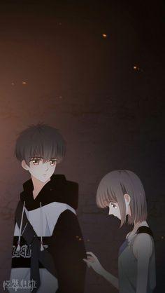 Love Never Fails Manga Cute Chibi Couple, Cute Couple Cartoon, Anime Love Couple, Cute Couple Art, Anime Couples Drawings, Anime Couples Manga, Cute Anime Couples, Anime Neko, Anime Manga