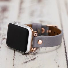 Gray Leather Apple Watch Band Slim Leather Apple Watch for Women, iWatch Band, Gift for Sister Cute Apple Watch Bands, Black Apple Watch Band, Apple Watch Bands Fashion, Best Apple Watch, Apple Band, Apple Watch Space Grey, Rose Gold Apple Watch, Apple Watches For Women, Apple Watch Wristbands