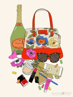 EmmaKisstina Illustrations by Kristina Hultkrantz: Blogger WIMB: Leah Bergman of Freutcake