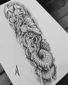 Tatoo Design, Forearm Tattoo Design, Tattoo Design Drawings, Viking Tattoo Design, Rune Tattoo, Norse Tattoo, Celtic Tattoos, Viking Tattoo Symbol, Norse Mythology Tattoo