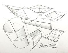 Perspective Images, Perspective Drawing Lessons, Conceptual Sketches, Art Drawings Sketches, Geometric Drawing, Geometric Art, Art Worksheets, Industrial Design Sketch, Basic Drawing