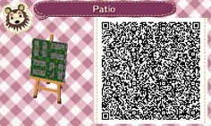 Mossy Stone Path - Animal Crossing New Leaf QR