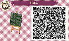 Mossy Stone Path - Animal Crossing New Leaf QR ACNLQR