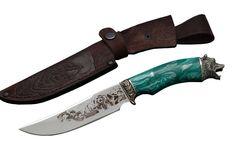 Купить подарочный нож Барс из стали D2. Ворсма