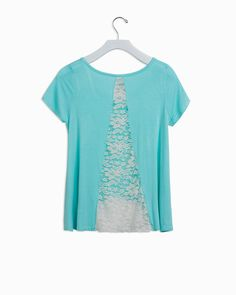 Breezy Lace Insert Top - IntiMint