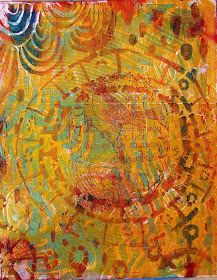 Diane Salter: Some New Art--A Small Step-by-Step Tutorial Coffee Cup Drawing, Gelli Plate Printing, Gelli Arts, Mixed Media Art, Mix Media, Art Pages, Paper Decorations, Art World, Wall Collage
