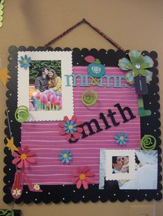 Embellish Your Story Rustic Magnetic Memo Board Large