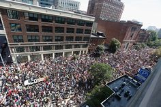 Anti-Hate Protestors Flood The Boston Streets To Outnumber Attendees Of The Latest White Supremacist Rally