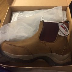 Women's Wild Boar Boot Women's Duluth Trading Company Wild Boar Boot, new and in the box, color brown with a touch of maroon, size 9M, dead stock, great reviews, hard to find Duluth Trading Company Shoes Winter & Rain Boots