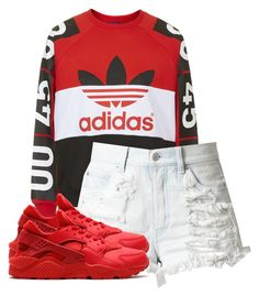 """Untitled #17"" by rosymamii on Polyvore featuring Topshop and NIKE"
