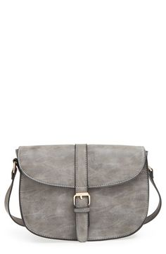 Amici Accessories Faux Leather Crossbody Bag available at #Nordstrom