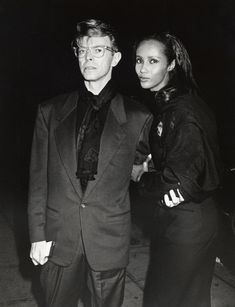 Mr. and Mrs. Jones <3   13 Times David Bowie Fought Fashion — & Won #refinery29  http://www.refinery29.com/2016/01/100937/best-outfits-david-bowie-fashion-legacy#slide-13  David Bowie with Iman in 1990. The pair married in 1995 and have one child, Alexandria. They have been married for over 22 years and remain one of fashion's most fêted unions....