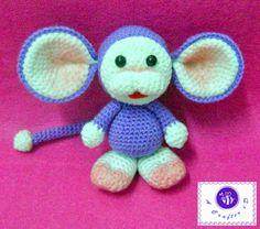Chimpui the Little Monkey - Free Amigurumi Pattern here: http://www.mazkwok.com/2012/12/chimpui-free-amigurumi-pattern.html