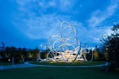Forest Loops sculptural playground by Suppose Design Office, Hamakita – Japan » Retail Design Blog