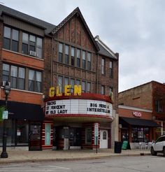 Glen Ellyn Downtown North Historic District in DuPage County, Illinois.