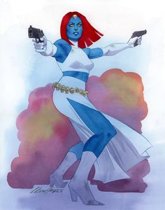 kevin wada illustration: Mystique ECCC 2015 commission