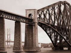 Forth rail bridge, Queensferry, Edinburgh