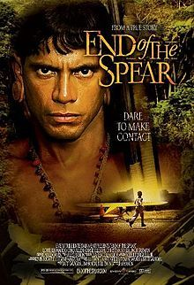 End of the Spear movie. Based on a true story about Steve Saint, Jim Elliot and Elizabeth Elliot, and other missionaries who witnessed to and forgave tribal people in Ecuador. Definitely an eye-opener.