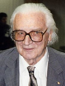 Konrad Zuse - The creator of first functional program controlled computer (1941). Also the father of digital physics.