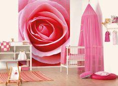 Nice baby girls room.