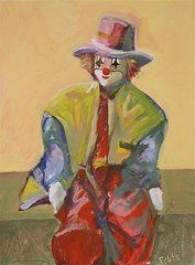 The Clown  by Fakhri Bohang