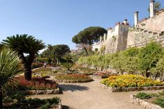 Italy, Gardens and Parks:Villa Rufolo, Ravello