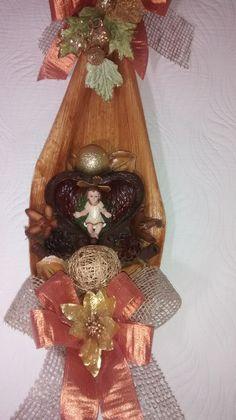 Guirlanda de natal c/menino Jesus