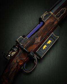 The Finest Westley Richards Magazine Rifle Ever Built! Bull Elephant, Gun Art, Tech Art, Bolt Action Rifle, Old Pickup Trucks, Tactical Equipment, Gun Cases, Custom Guns, Concept Weapons
