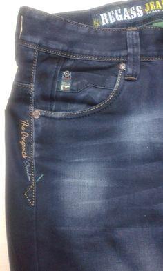 . His Jeans, Denim Jeans Men, Denim Shirt Dress, Denim Trends, Denim Fashion, Jeans Style, True Jeans, Washed Denim, Katana