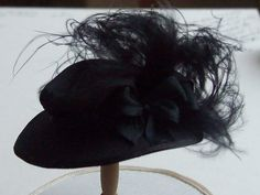 Dollhouse miniature 1/12th scale hat made for American museum