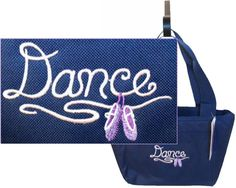 Dance & Shoes Insulated Lunch Cooler Bag Ballet Slippers Monogram Get Navy Now #LibertyBags