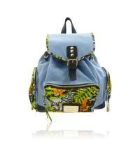 DENIM & NEON PRINT RUCKSACK @Wendy Werley-Williams.stylesbyemporium.com