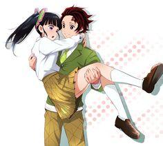 Manga Anime, Anime Demon, Otaku Anime, Anime Art, Konosuba Wallpaper, Cute Anime Wallpaper, Anime Couples Drawings, Cute Anime Couples, Demon Slayer