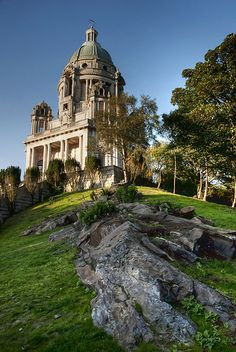 Ashton Memorial, Williamson Park, Lancaster, England by miketonge. Built in 1907 by millionaire industrialist Baron Ashton in memory of his second wife, Jessy Places Around The World, Around The Worlds, Visit Britain, England And Scotland, Lake District, British Isles, Days Out, Great Britain, Lancaster England