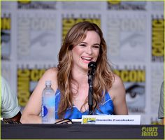 Danielle Panabaker at the #TheFlash Comic Con Panel 2016