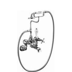 Burlington Claremont Regent Wall Mounted Bath/Shower Mixer   #Traditional #Bathroom