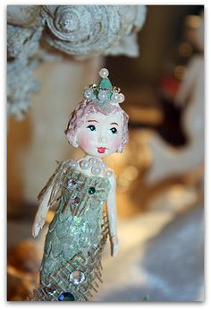 Mermaid! I adore her.....