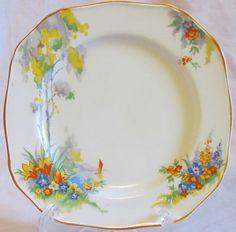 Alfred Meakin Tea Plates from the 1930\u0027s. 6.25\  diameter.  sc 1 st  Pinterest & I love Meakin. Alfred Meakin MEA146 Daisies \u0026 Wildflowers plates ...