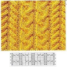 braids and plaits Cable Knitting Patterns, Knitting Stiches, Knitting Charts, Knitting Socks, Knit Patterns, Knitting Ideas, Celtic Patterns, Knit Pillow, Plaits