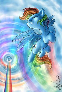 Rainbow Dash by atryl on DeviantArt Rainbow Dash, Rainbow Unicorn, Mlp My Little Pony, My Little Pony Friendship, My Little Pony Wallpaper, Mlp Fan Art, Imagenes My Little Pony, My Little Pony Pictures, Pony Drawing