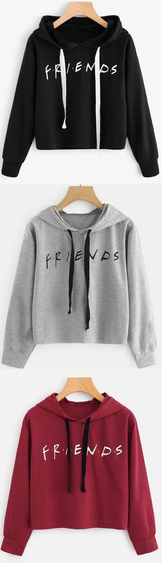 Friends Sweatshirt In White
