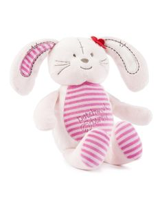 Patchwork Bunny Rattle Ring | Woolworths.co.za