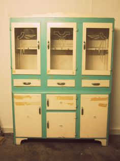 160 Best Vintage Kitchen Dressers Cabinets Images In 2015 Vintage